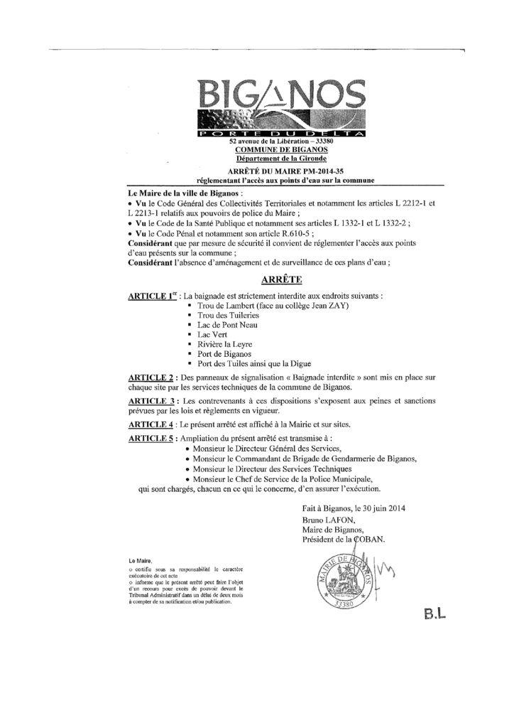 thumbnail of arrete-acces-aux-points-deau-baignade