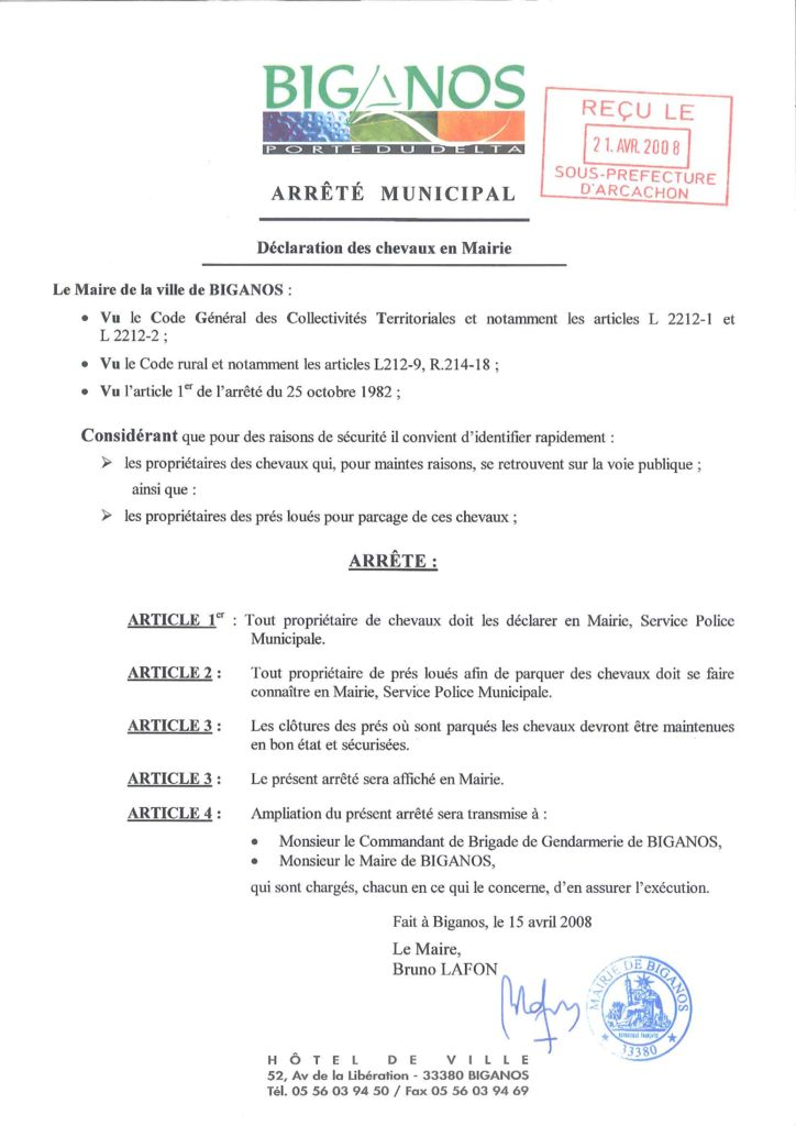 thumbnail of arrete-declaration-de-chevaux