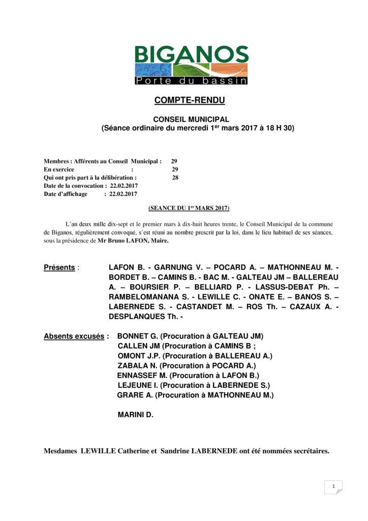thumbnail of COMPTE RENDU AFFICHAGE CM 01.03.2017doc