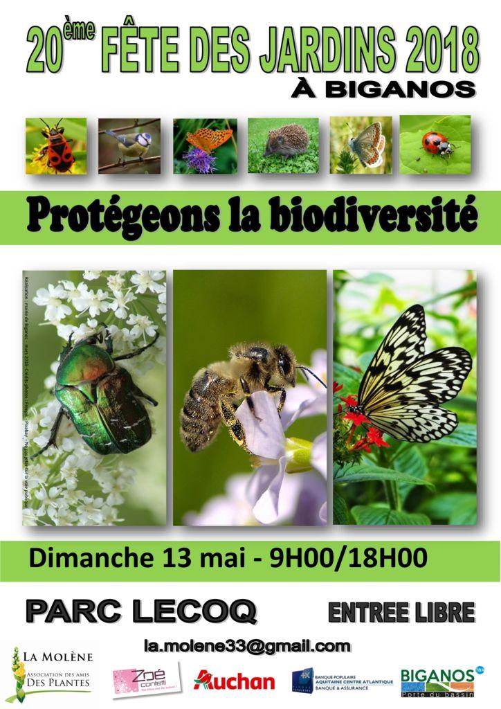 thumbnail of 6 Affiches Fête des Jardins 2018