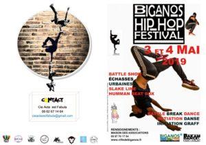 thumbnail of Programme Biganos Hip-hop festival 2019