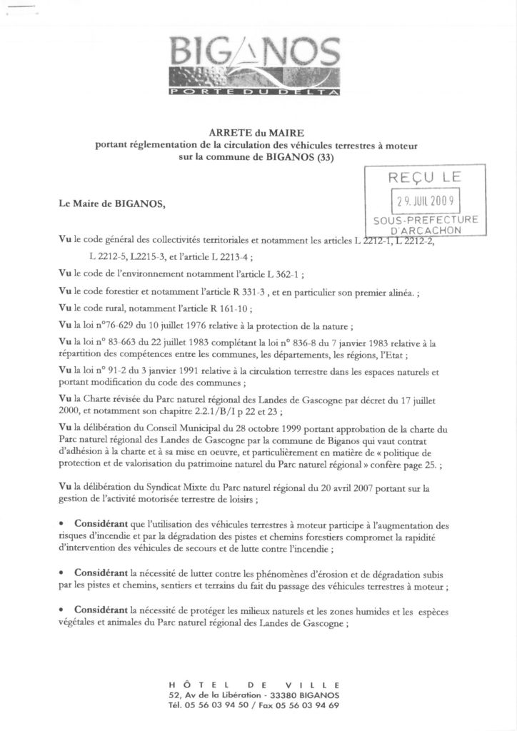 thumbnail of arrete_circulation_des_vtm_mairie_biganos