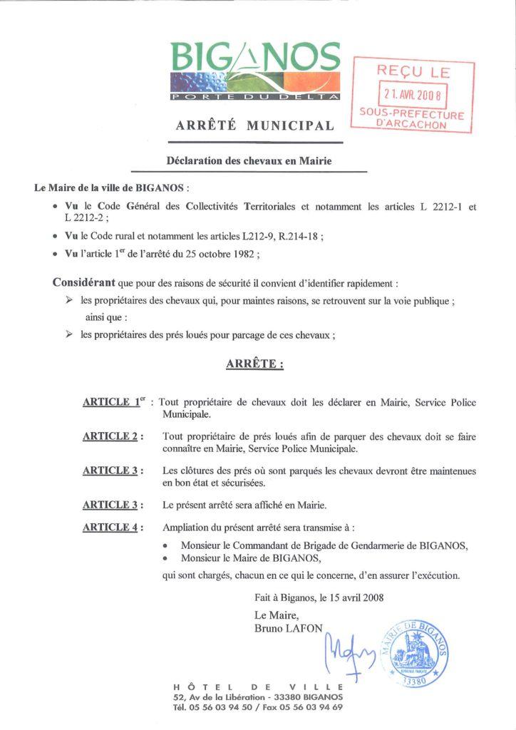 thumbnail of arrete-declaration-de-chevaux