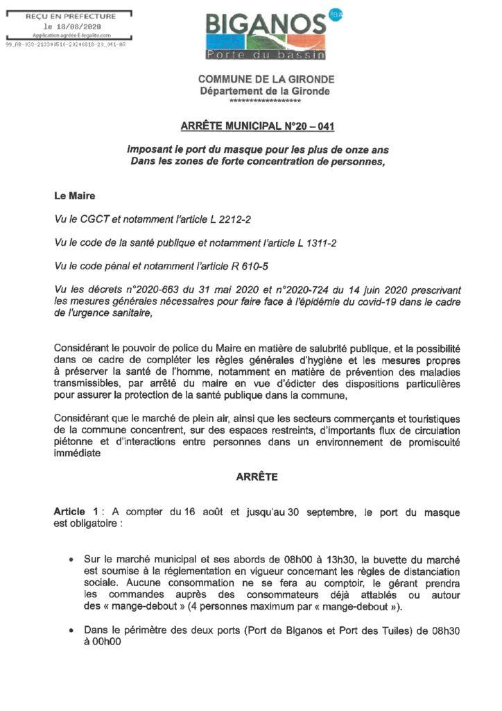 thumbnail of ARRETE_MASQUE_OBLIGATOIRE_VILLE_DE_BIGANOS